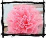 Leuke accessoire voor in het haar van je prinsesje! De haarknipjes zijn gemaakt van tule (polyester) en gevormd als een bloemetje. De haarknipjes zijn handgemaakt en variëren dus qua lengte, ontwerp en vorm! Met clip eenvoudig te bevestigen. De diameter is ongeveer 7 cm.  De knipjes zijn verkrijgbaar in de kleuren wit, ivoor, zalm, blauw, zwart, rood, lichtroze, roze en donkerroze.