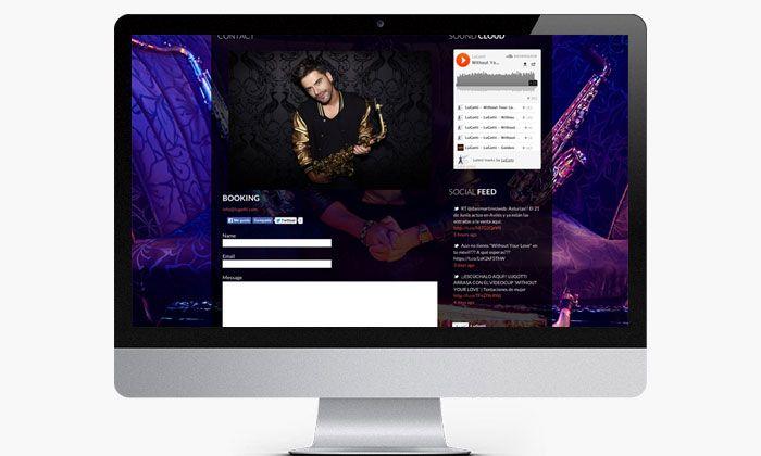 http://www.basicum.es/portfolio-item/diseno-web-musicos-lugotti/ Diseño web de la sección de Contacto de Lugotti creado por Basicum.es