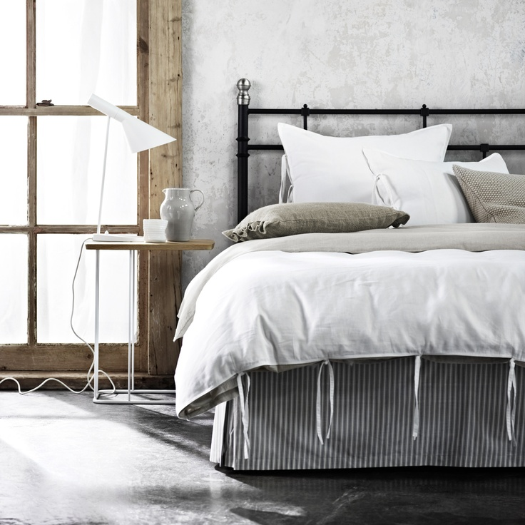 Maison White Queen bed quilt cover