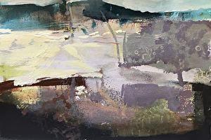 Plum Tree-abstract landscape Joan Fullerton