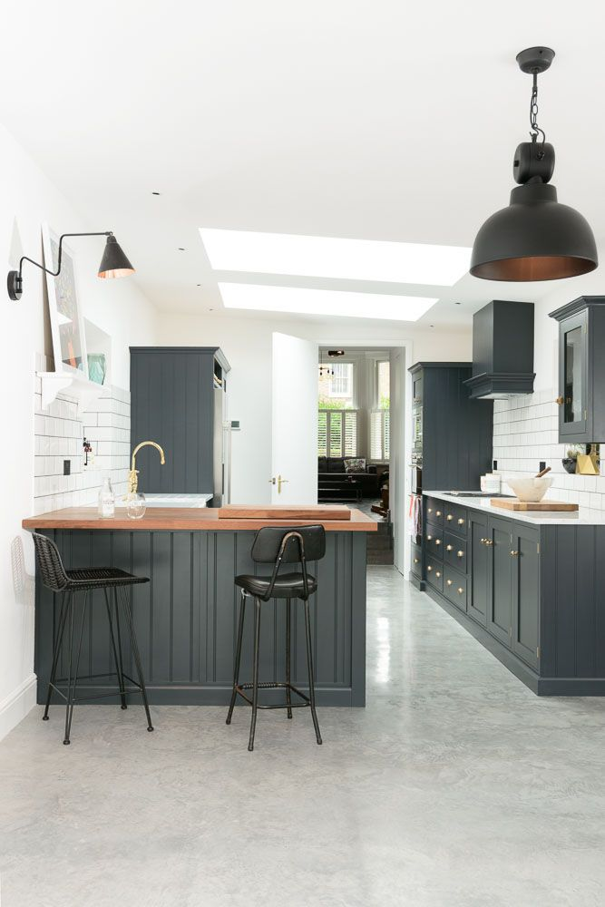 The beautifully cool and contemporary East Dulwich Kitchen by deVOL