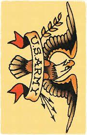 traditional army tattoos