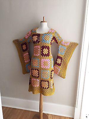 Vintage 70s бохо хиппи крючком бабушка квадратная Ангел slv афганских midi фестиваль платье | Одежда, обувь и аксессуары, Винтаж, Винтажная одежда для женщин | eBay!