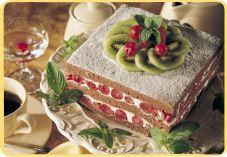 Recept voor Chocoladecake met kersenvulling - Koopmans.com