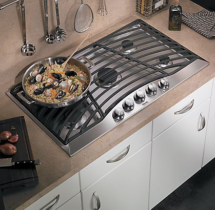 Glass whirlpool replacement cooktop