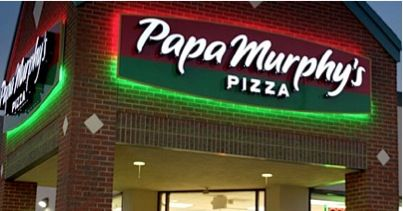 Papa Murphy's Pizza...it is the best!! they don't deliver silly they make it you take it and bake it...and they don't deliver at all especially from E Brainerd to Chickamauga...you should try it sometime tho it would be a nice change from frozen dollar totinos pizzas every day ;)