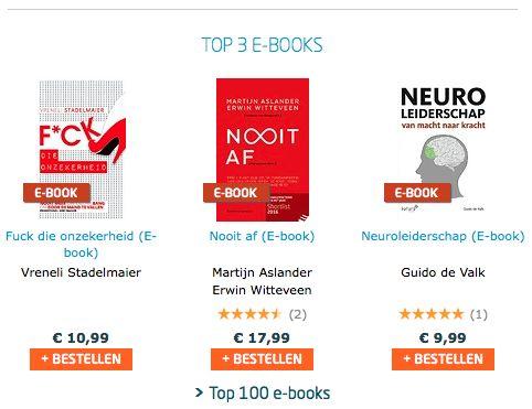 Top, het e-book Neuroleiderschap van Guido de Valk staat in de e-book TOP-3 van Managementboek. Download ook het e-book. #neuroleiderschap #guidodevalk #mgtboeknl #futurouitgevers