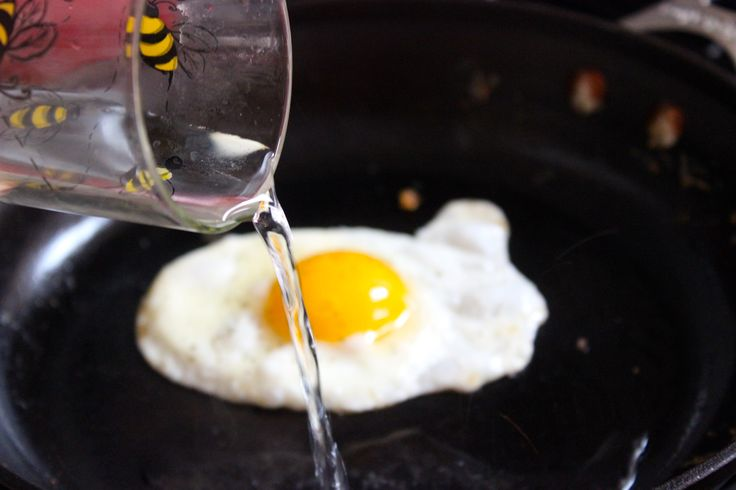 How to make the PERFECT over easy egg without flipping!