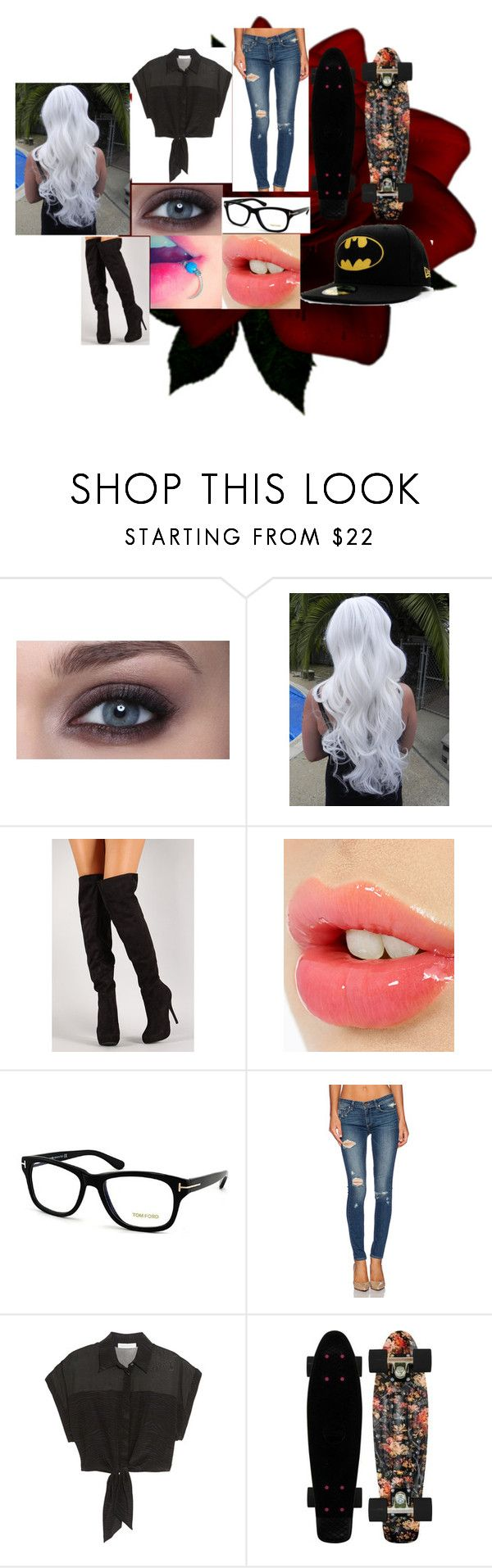 """Rigby meeting"" by kittenkittykat123 ❤ liked on Polyvore featuring Charlotte Tilbury, Tom Ford, Paige Denim and Pierre Balmain"