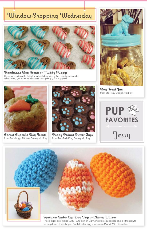 30 best hoppy easter easter ideas for dogs images on pinterest easter gift ideas for your pup window shopping wednesday whenpoochcomestoshove negle Images