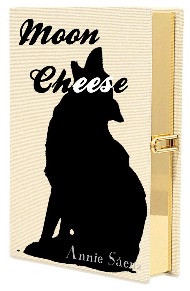 Moon cheese by anniesaenz on Polyvore featuring polyvore art diybookcover