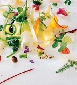 Gargouillou of vegetables by Michel Bras