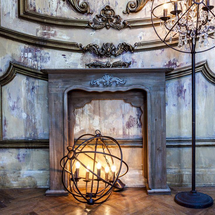 Камин - величественное достояние современного дома. Каминный портал «Монсо» - предмет уникальный, -центральный экспонат гостиной, спальни или библиотеки. #мебель, #люстра, #потолочныйсветильник, #светильник, #камин, #каминныйпортал, #французскийстиль, #прованс, #интерьер, #frenchstyle, #fireplace, #fireplaceportal, #furniture, #interior, #lustre, #lamp, #objectmechty