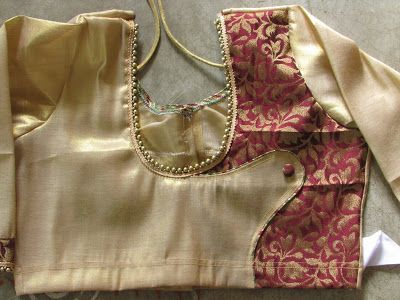BLOUSE DESIGNING PICTURE | Fashion And Garment