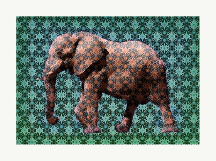 Yellow Elephant by TrxtrSigned limited edition archival pigment print.80 x 61 cms.On acid free 310 gsm paperEdition of 100Free shipping worldwide