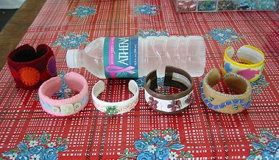 Daily Dose of Art: Briefs on Bottled Water (6) - Water Bottle Crafts