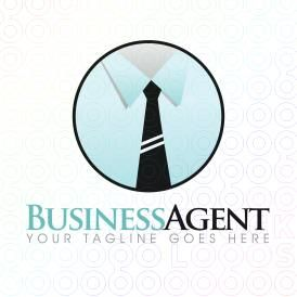 Business Tie and Shirt Logo Designs For Sale on Stock Logos | Business Agent logo