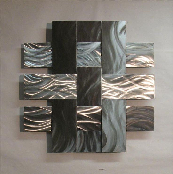 Contemporary Metal Sculptures | Contemporary Metal Wall Art Sculpture Stainless 14S, Atlanta Georgia