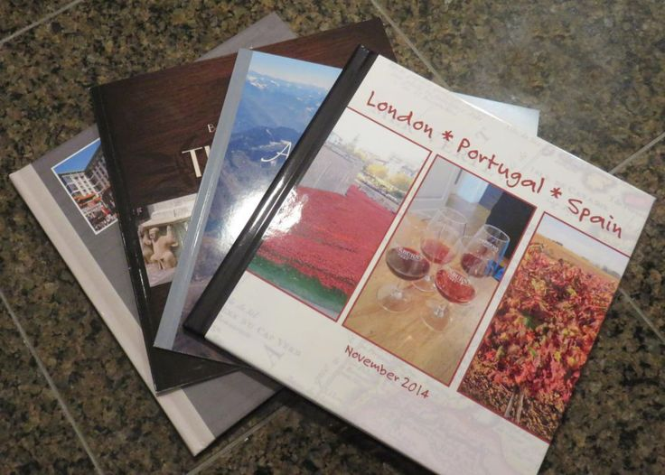 My Shutterfly books don't take up much space at all.