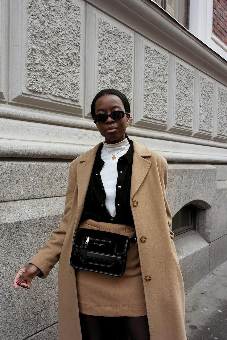 fec90da7c708 Sylvie Mus camel coat outfit casual   fash flash   Camel Coat, Coat ...