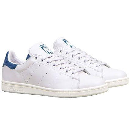 adidas stan smith blanche et bleu marine