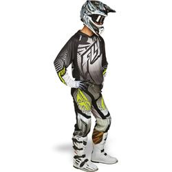 Fly Racing Lite Hydrogen Motocross Kit Combo - Black Grey - 2014 Fly Racing Motocross Kit - 2014 Motocross Gear - by Fly Racing