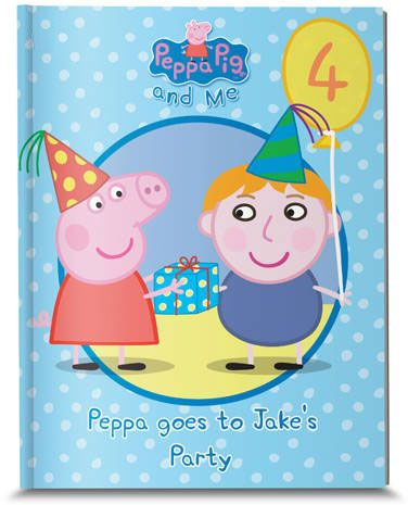 Personalized Peppa Pig: Peppa goes to your Child's Party!