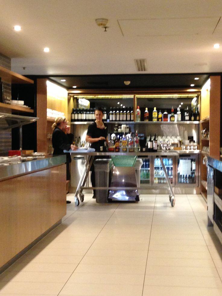 Executive Lounge at the Hilton Sydney Hotel
