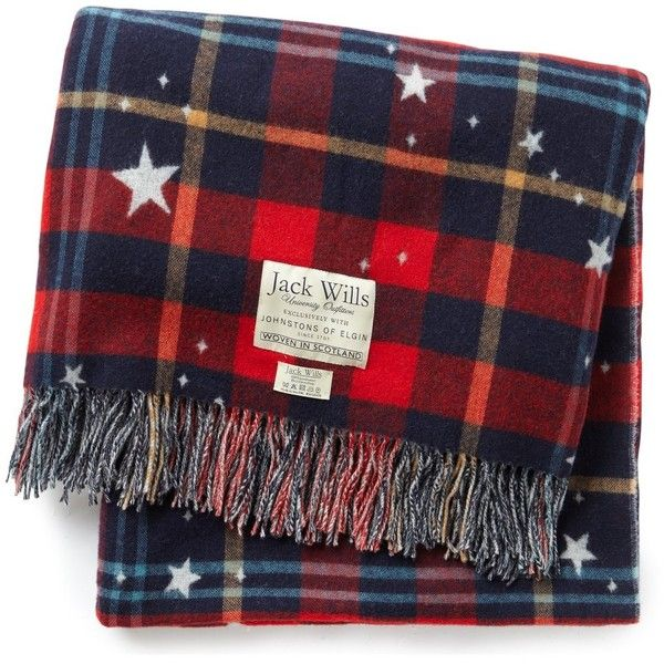 Jack Wills Chellington Blanket found on Polyvore--OH I REALLY REALLY WANT THIS