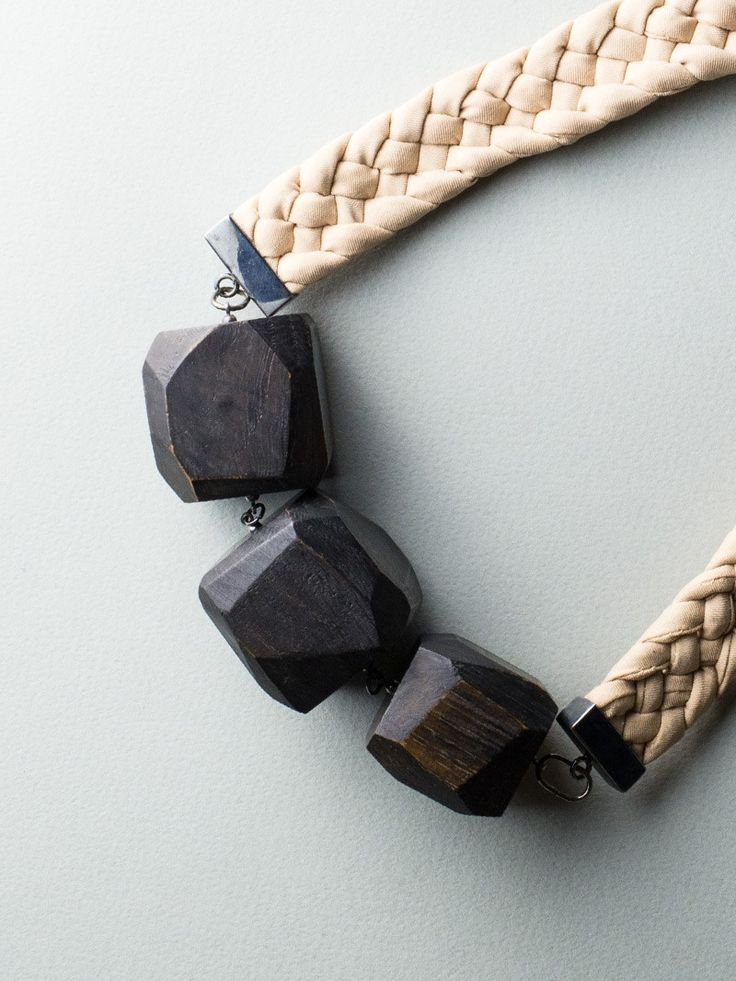 Silky Fragments Necklace by Carla Szabo #jewelry #design #details