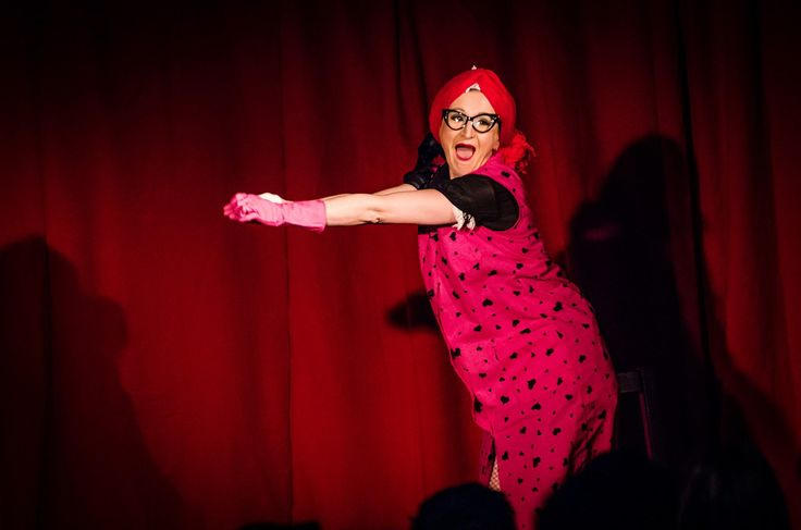 The Cleaning lady act from Magie Noire was a huge success at our show. So so funny! <3