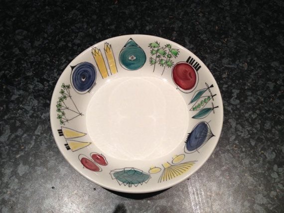 Picknick, Rorstrand Sweden. Designed by Marianne Westman. on Etsy, $85.03