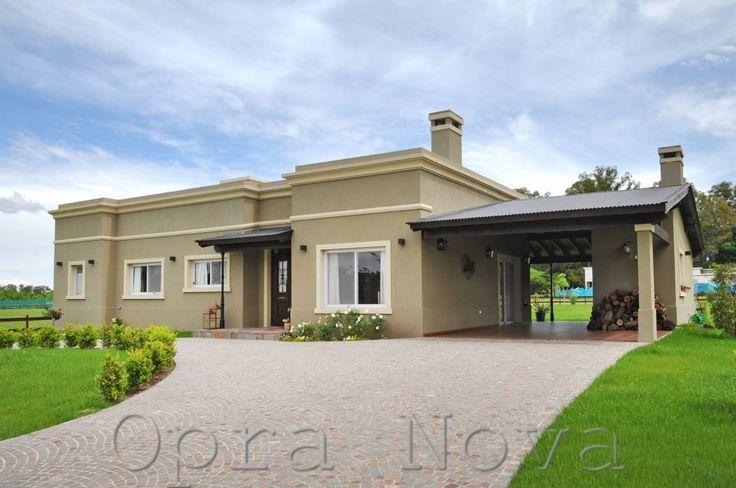 Fachada Frente: Casas de estilo Rural por Opra Nova