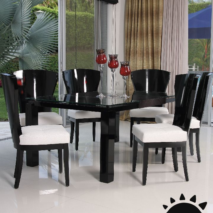 Muchos modelos para elegir tus muebles de comedor o cocina for Modelos de comedores de vidrio