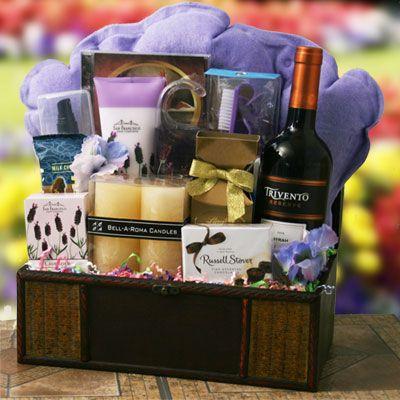 Bubbles Wine Gift Basket