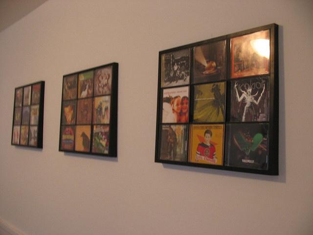CD Wall Display (4) | Flickr - Photo Sharing!