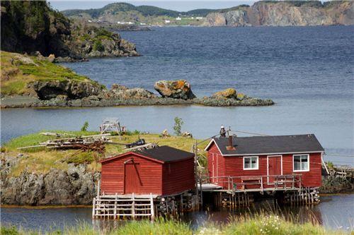 Tizzard's Harbour, Newfoundland, Canada ~ Photo by Martin J Smith <3