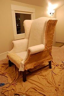 reupholstering Tutorial. Amazing gonna go for it!