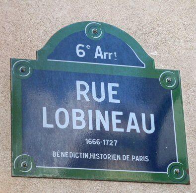 La rue Lobineau  (Paris 6ème)