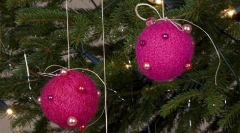 Tova julehjerter og kuler