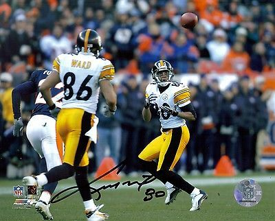 Pittsburgh Steelers CEDRIC WILSON Super Bowl XL autograph signed 8x10 photo