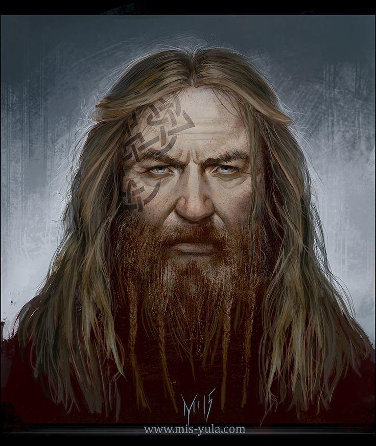 Viking Warrior Concept Art by mis-Yula.deviantart.com on @DeviantArt