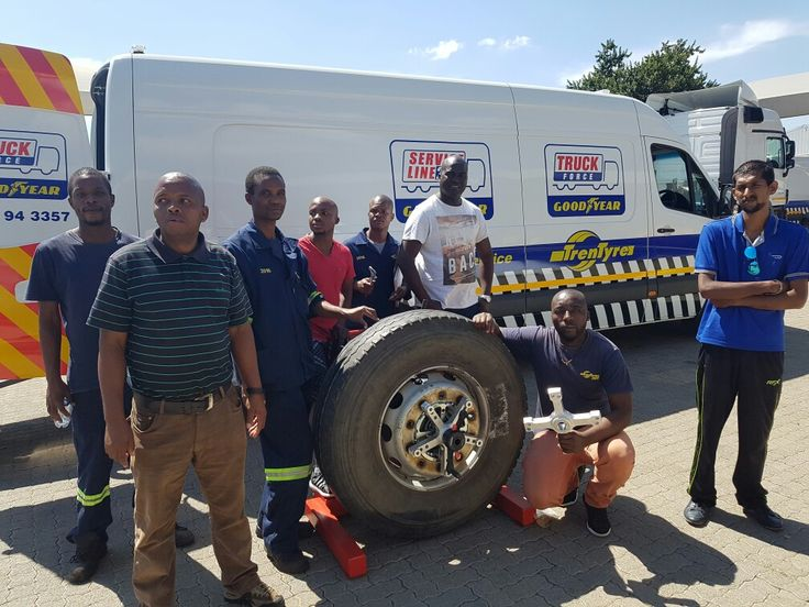 Goodyear Staff all trained by Equipment Africa