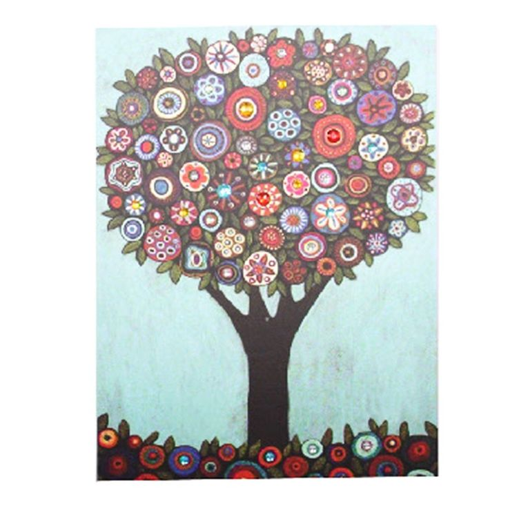 20 best images about arbol on pinterest - Cuadros con botones ...
