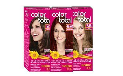 Color Total - Colração Creme de Longa Duração. #salonline #produtos #coloracao #tendencia #cor #cabelos
