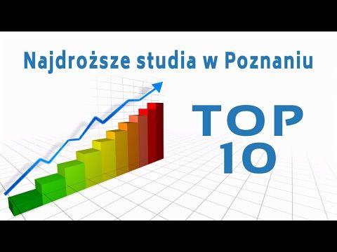 Studia Poznań - TOP 10 - Najdroższe studia w Poznaniu 2016