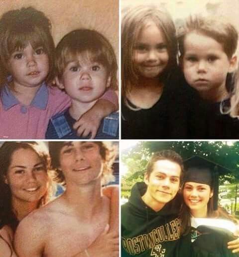 Dylan and his sister,Julia
