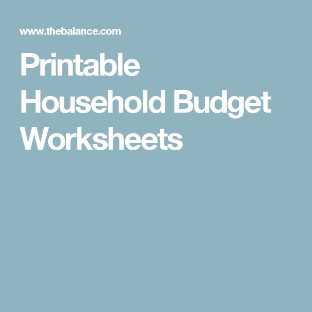 771 best Organization images on Pinterest Organization ideas - How To Make A Household Budget Spreadsheet