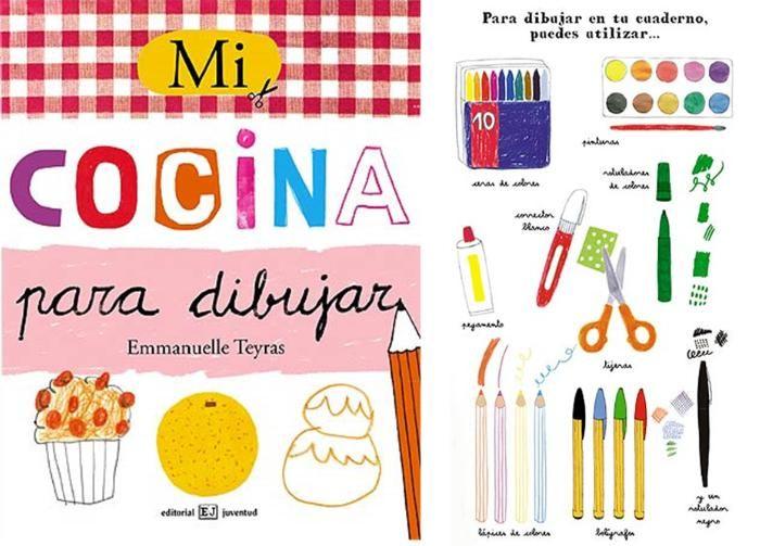 Cuaderno que contiene 72 páginas de actividades para descubrir los alimentos y el mundo de la cocina, para pasarlo bien y crear con toda libertad, colorear, recortar, pegar, dibujar o completar bocetos, escribir......