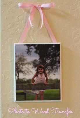 DIY  Easy Photo to Wood Transfer